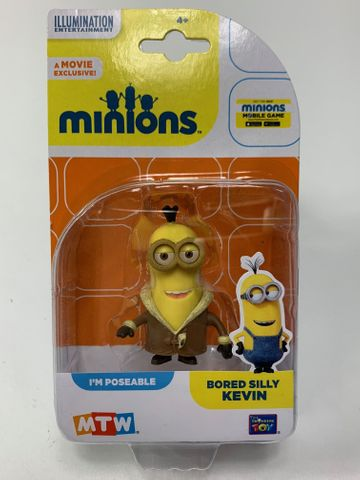 MTW 20222 - Bored Silly Kevin - Original Minions - Actionfigur 5-8 cm