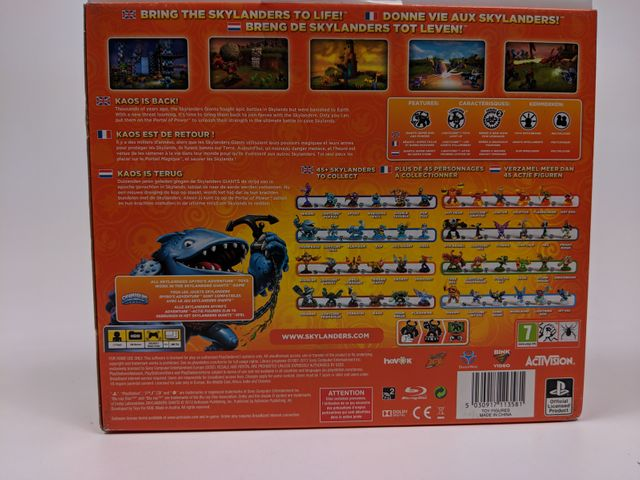 Skylanders Giants Booster Pack Playstation 3 - PS3 - Activision – Bild 3