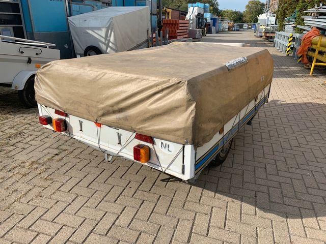Alpenkreuzer Faltcaravan Zeltanhänger Anhänger -1- 190 x 1,50 cm Camping – Bild 6