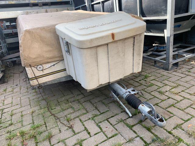Alpenkreuzer Faltcaravan Zeltanhänger Anhänger -2- 190 x 1,50 cm Camping – Bild 8