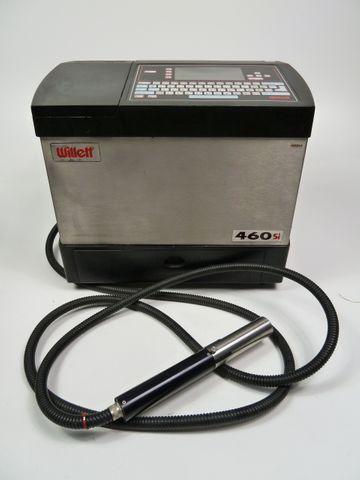 Willett 460SI Inkjet Kodierer Code Drucker Inkjetdrucker Codedrucker 460 SI – Bild 1