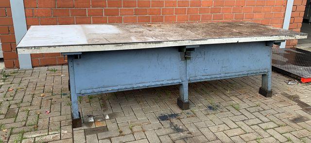 Stabile Profiwerkbank 302 x 100 x 78 cm Industriewerkbank Werkbank Werktisch – Bild 1