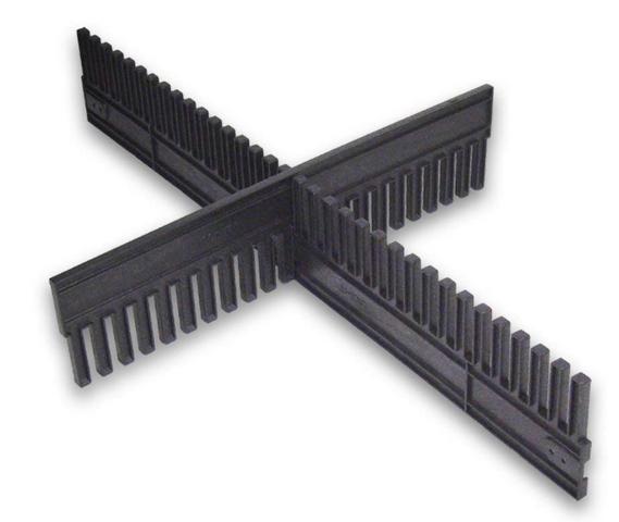 LOCK-IT Fachteiler Steckleiste Seperator 750 x 180 x 15 mm Gefachteiler  – Bild 1