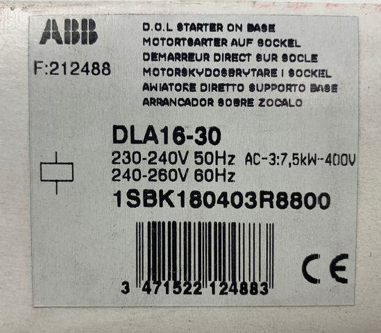 ABB DLA16-30 Leistungsschütz 1SBK180403R8800 – Bild 5