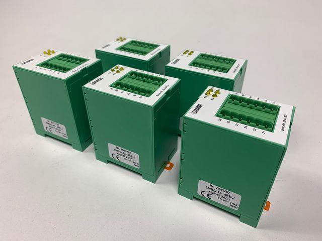 5x Phoenix Contact EMUG 45-4REL/KSR-G 24/21 Relais Modul 2943767 – Bild 1