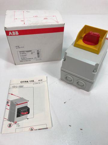 MS-Gehäuse OTPA116A2M1 EAN 6417019200361 Control Oy