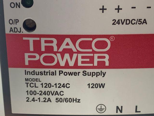 Traco Power TCL 120-124C Hutschienen Netzteil 120W 100-240VAC 2,4-1,2 A – Bild 3
