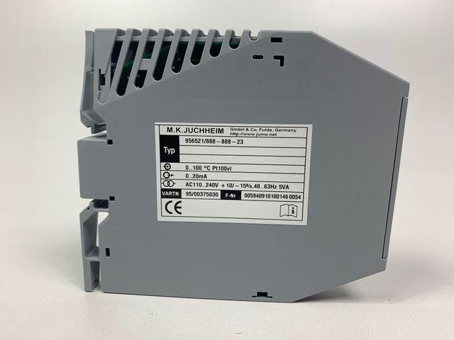 Jumo Messumformer dTRANS T02 PCP programmierbar 956521/888-888-23 – Bild 3