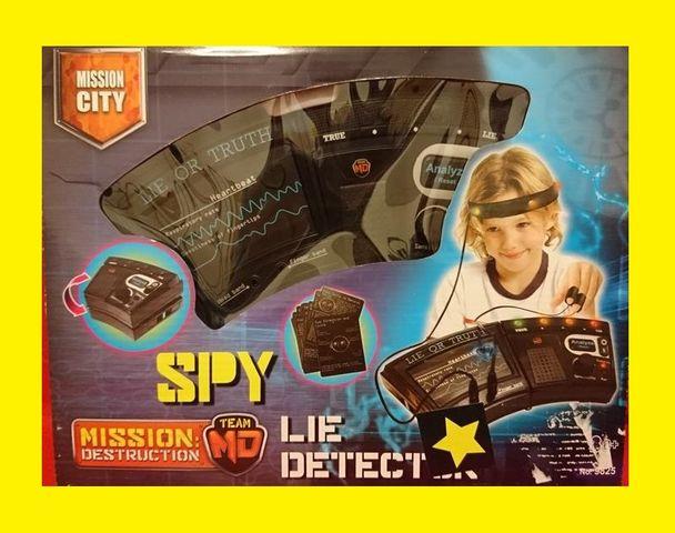 SPY Lie Detector Lügendetektor mit Zubehör für Agenten-Kinder weiteres im Shop – Bild 1