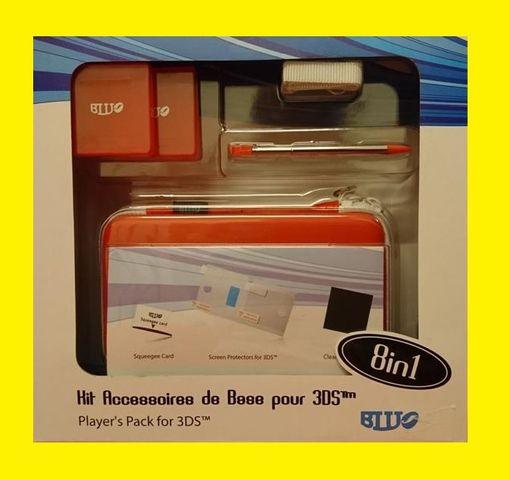 Spieler-Pack für 3DS  Nintendo 8 in 1 Pack Blu-J Basic 8in1 Kit NEU OVP – Bild 1