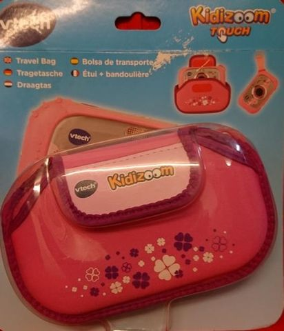 Kidizoom Touch Kamera TRAGETASCHE in pink von VRTECH NEU OVP – Bild 2