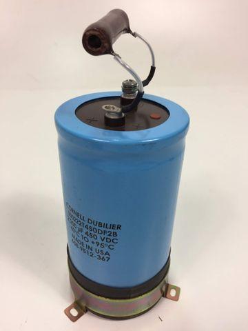 Cornell Dubilier Kondensator 500222T450DF2B +95°C – Bild 1