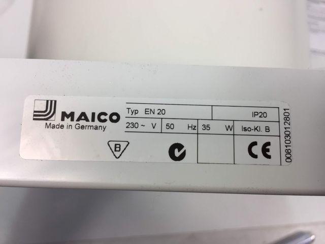Maico Ventilator EN 20 Lüfter Wand axial zur Entlüftung – Bild 4