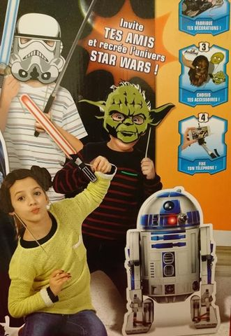 Selfie-Set Booth Photo Studio Party Star Wars mit Accessoires ab 3 Jahren NEU – Bild 5
