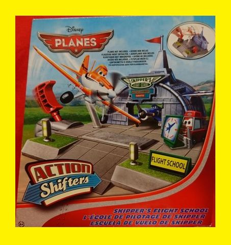 Disney Planes Skippers Flugschule Action Shifters Flight School NEU OVP – Bild 1