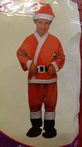 Weihnachtsmann Kostüm Größe 146 Deluxe Santa Set NEU OVP – Bild 2