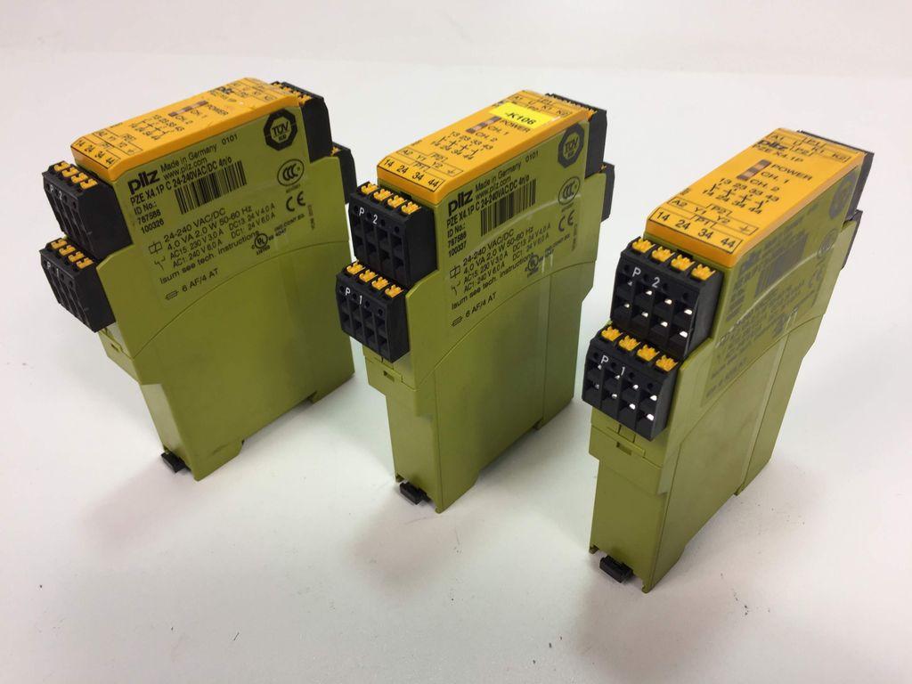 PILZ Kontakterweiterungsblock PZE 9P 24VACDC 8n//o 1n//c 777140
