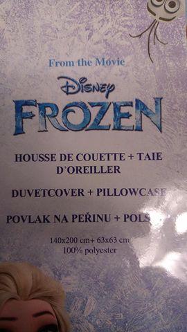 Disney Frozen Bettwäsche Bettbezug 140 x 200 cm Bettdecke und Kopfkissen Bezug – Bild 3