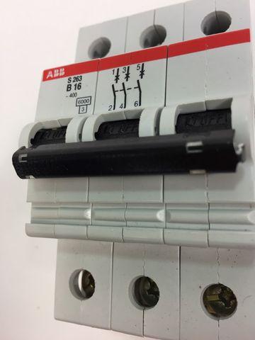 ABB S263-B16 Sicherungsautomat Leitungsschutzschalter GH S263 0001 R0165 – Bild 3