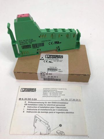 Phoenix Contact IB IL 24 DO 2-2A Interbus Modul 2726243 – Bild 1