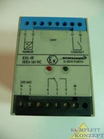 Schischek EExi Schaltverstärker EXL-IR EEx ia Trennschaltverstärker