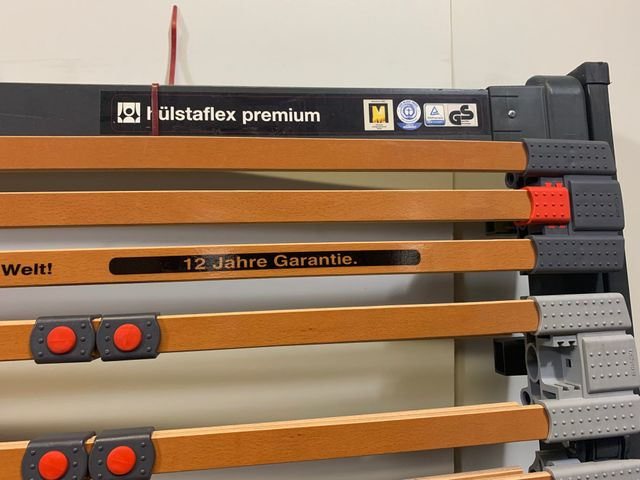 Hülsta Lattenrost 90 x 200 cm hülstaflex premium elektrisch verstellbar – Bild 3