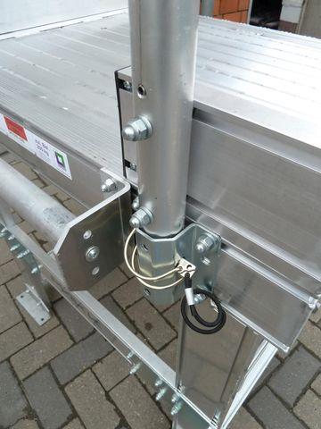 Günzburger Steigtechnik Arbeitspodest Podestleiter Plattformleiter  – Bild 12