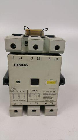 Siemens 3TF5022-OAPO, Schütz, 3TF5022OAPO, 3-polig, AC-3, 55kW, 400V/380V – Bild 1