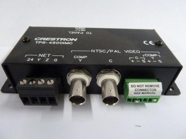 Crestron Anschlussmodul Interface Module TPS-4500 IMC Videokabel TPS 4500 IMC