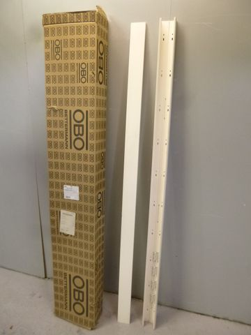 12 x OBO WDK60090CW Wand und Deckenkanal Kabelkanal 60x90x2000mmm weiß 6021913  – Bild 1