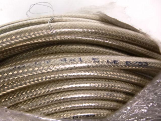 100 Meter Steuerleitung JZ-Cy 4x1,5 mm² geschirmt Kabel Steuerkabel transparent – Bild 3