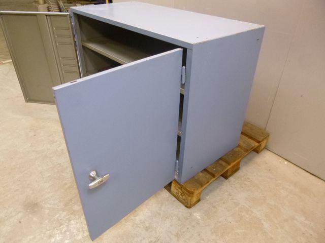 Schäfer Stahlschrank Flügeltürschrank Werkstattschrank 72x105x50 cm – Bild 4