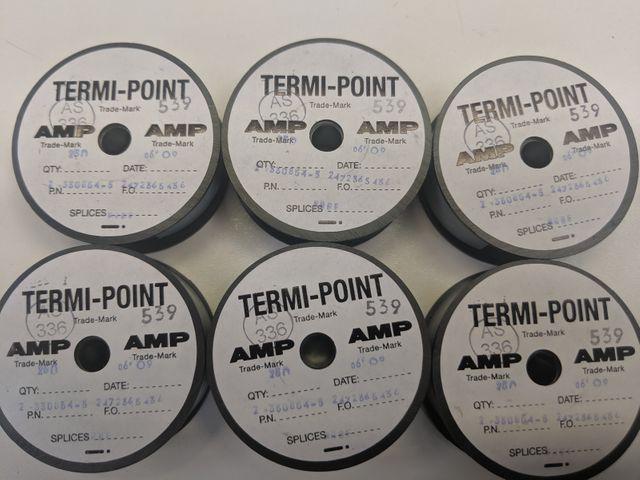 AMP Termi Point Pistole Zubehör - Clips Splices 2-330854-5 AS336/539 - 250 Stück – Bild 2