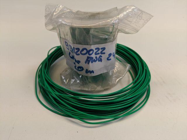 (1,40€/m) AMP Termi Point Zubehör - Litze Schaltlitze Kabel 99120022 AWG24 ~25m – Bild 1