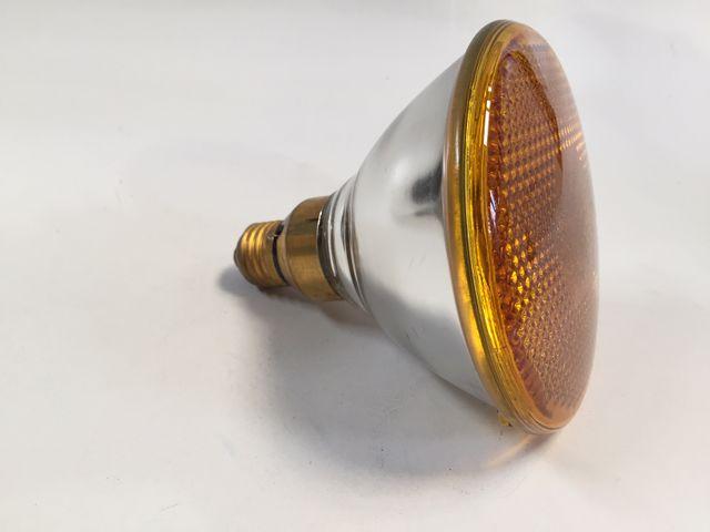 OSRAM CONCENTRA YELLOW FLOOD E27 Strahler Glühlampe farbig Leuchtmittel – Bild 1