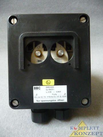 BBC GHG 635 0002 Motorschutzschalter Schutzschalter Schalter 0,10-0,16 A – Bild 1