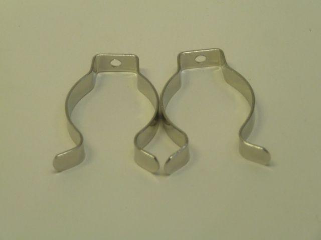 10 Stück Federstahlklammern Metallhalteclip für T12 LSF 38mm