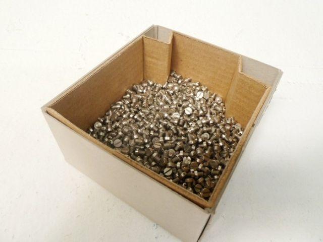 1500 Stück Zylinderkopfschraube VA Schrauben M4x5