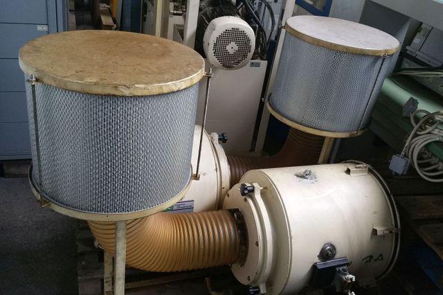 Losma AS4 DC Aspirofilter Luftfilter 1700 m³ Dämpfe und Nebel Nebelabscheidung – Bild 1