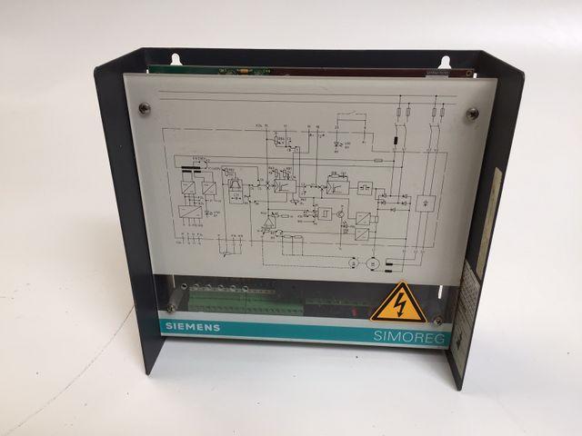 Siemens SIMOREG 6RA2 203-8DD20-1 Stromrichter Kompaktgerät – Bild 1
