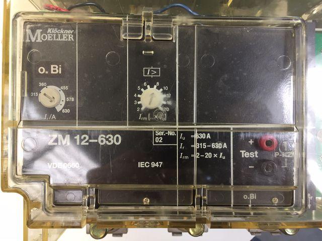 Klöckner Moeller NZM 12-800 + ZM12-630 Leistungsschalter – Bild 7