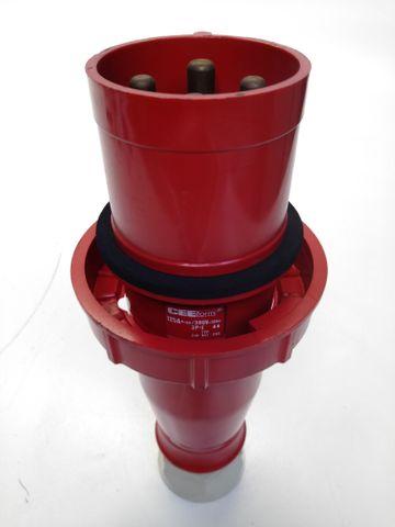 CEE Form Stecker 4 Polig 125A 380V 3P+E 249 847 206 – Bild 1