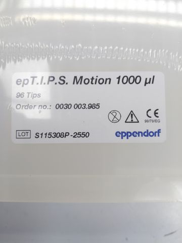 epT.I.P.S. Motion pipette tips, Pipettenspitzen, PCR clean, 1000 µL, 864 Tips (6 Racks) – Bild 2