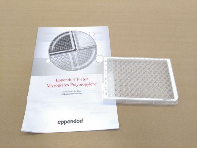 Microplate 96/F, Wells klar, RecoverMax-Well-Design, PCR clean, weiß, 73 Platten – Bild 2