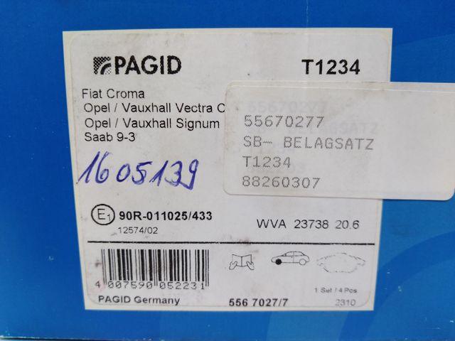 Hella Pagid Bremse Vorne 355009311 Bremsbeläge Für Opel – Bild 7