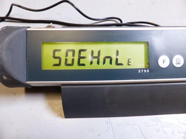 Soehnle Professional 2790 Wägeterminal Bodenwaage Palettenwaage 9013 Waage 1,5T – Bild 5
