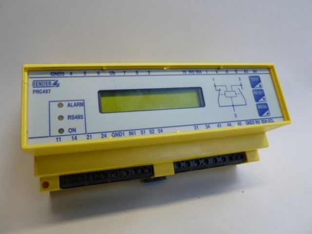 Bender PRC487 Steuergerät für Medics-Module *NP 1200 €