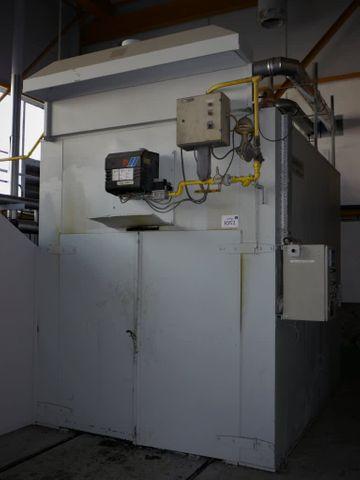 Glasbeek Finish Gas Kammerofen Type G.11.01, 200 ° C Brennofen Härteofen Ofen – Bild 1