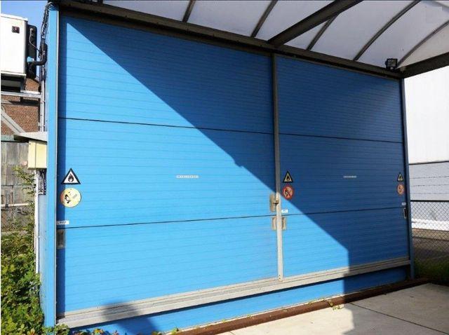 Hiltra CT8-iso Chemotainer Gefahrstofflager Gefahrstoff-Regalcontainer m. Klima – Bild 4