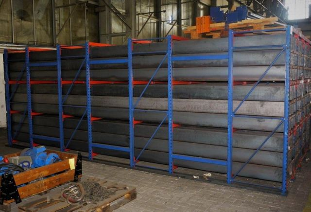 Wabenregal Materiallager Langgutregal Tiefe 6 Meter BxTxH 2750x6000x2190 mm  – Bild 2